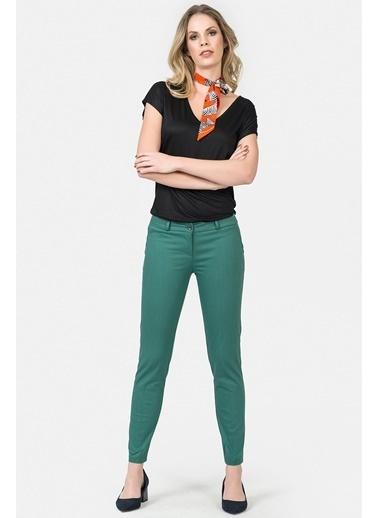 İroni Cigarette Pantolon Yeşil